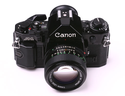 Canon A-1 Photo Wiki-Commons