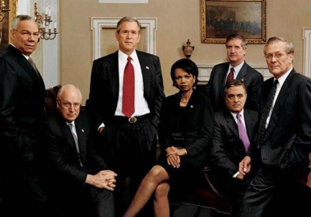 Bush War Cabinet Annie Leibovitz 2001