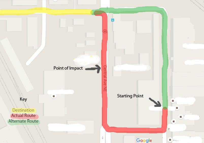 """Map Courtesy of """"Google Maps"""""""